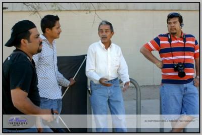 Clases en Tucson con Lalo Villa, Efrain y Hector Canel