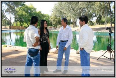Clases en Tucson con Hugo Badilla y Palomares