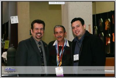 Roberto LIno de Miami y Carlos Blake de Mexicali