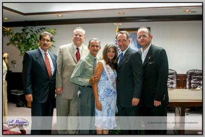 Ex Presidente de la Barra de Abogados de CA. Jess Araujo, Senador John Dune y Consul de Mexico Ortiz de Haro