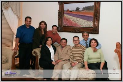 Consul Juan Manuel Calderon con su grupo en mi casa en Tucson