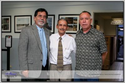 Juez Sarmiento en consulado de Santa Ana, CA