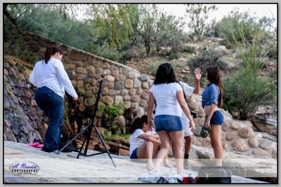 Clase en Tucson con Mayra Coronado y Cecilia
