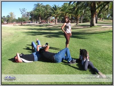 Gery en mi clase de fotografia en Tucson