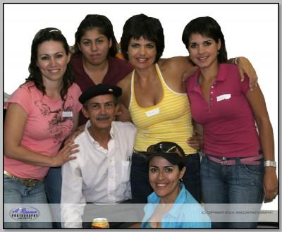 Mis Alumnas en la segunda clase en Tucson, AZ