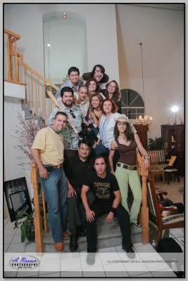 Clase en Corona, CA con Jarki, Cayupe (Eclipsi), Lupita Ramirez, Juan Gonzalez