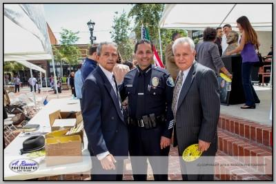 Teniente Vargas de Anaheim y Zeke Luna de Santa Ana
