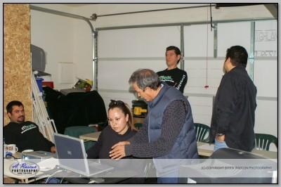 Mis alumnos Hector, Mary Arbizu, Efrain y Lalo Villa en Tucson