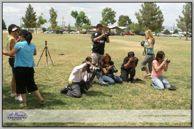 Mis alumnos Lupita Ramirez, Cayupe (Eclipsi), Hector, y otros en Tucson